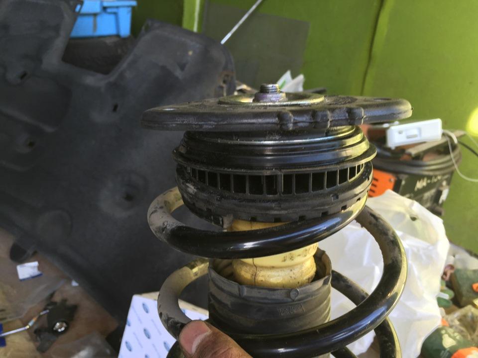 ford s-maxс ремонт передней подвески.замена опорного подшипника