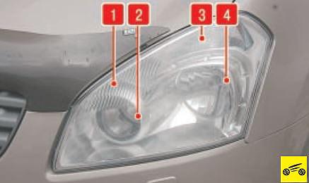 nissan qashqai+2 замена лампы габарита