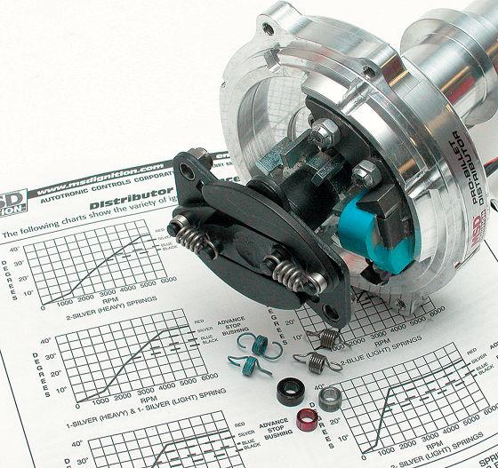 Детали распределителя зажигания двигателя Toyota RAV4