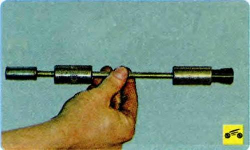 Съемник для маслосъемных колпачков своими руками 17