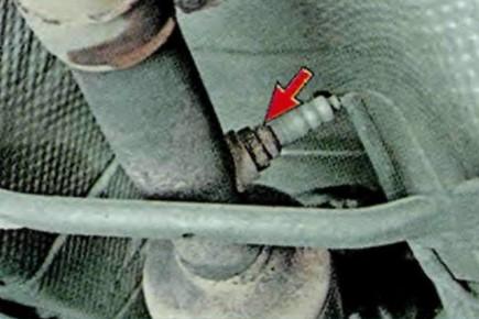 Замена датчика кислорода на шкода октавия а5 своими руками