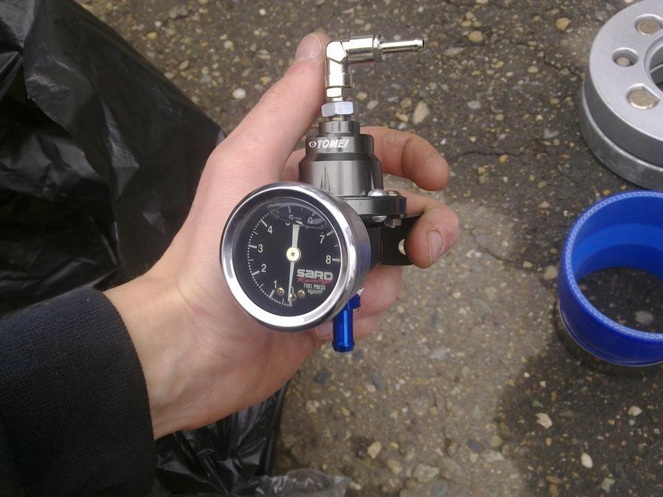 Манометр для давления топлива своими руками