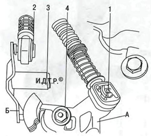замена рабочего цилиндра сцепления skoda octavia