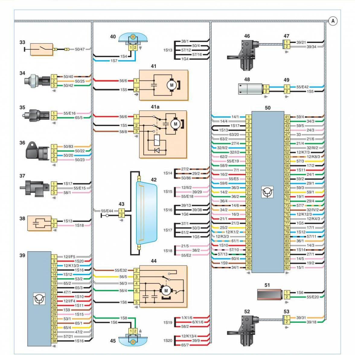 hyundai solaris - электросхемы автомобилей