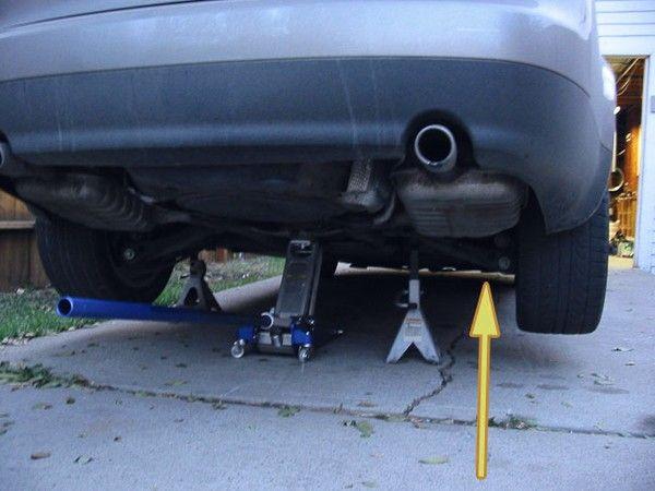 Замена топливного фильтра Audi A4
