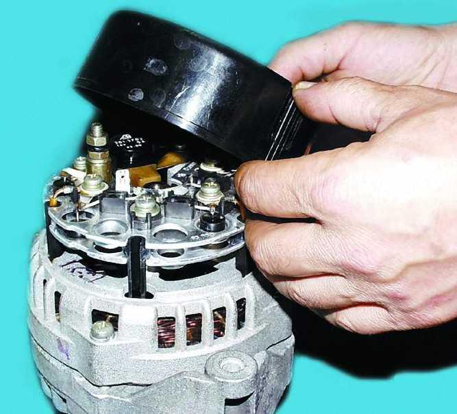 Ремонт генератора ваз 2110 инжектор своими руками