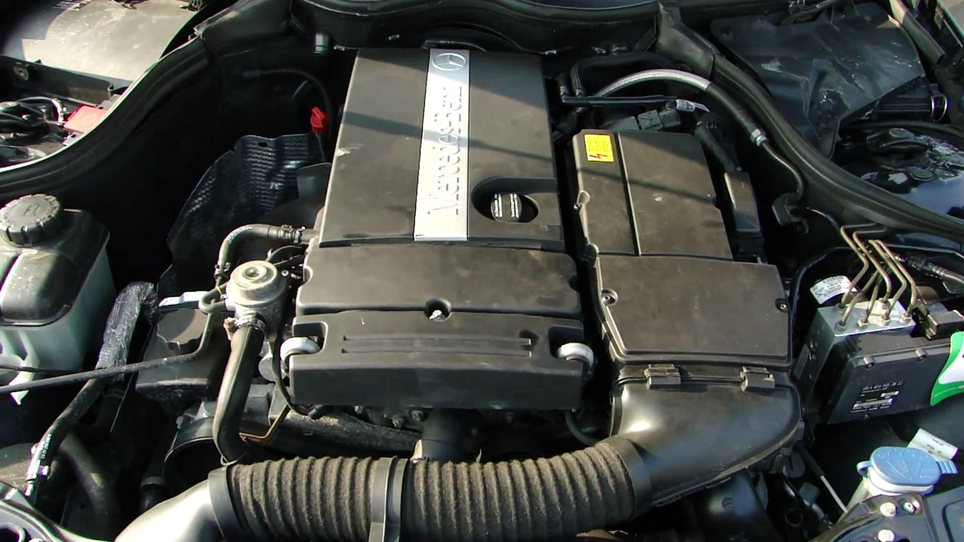 Двигатель мерседеса w203