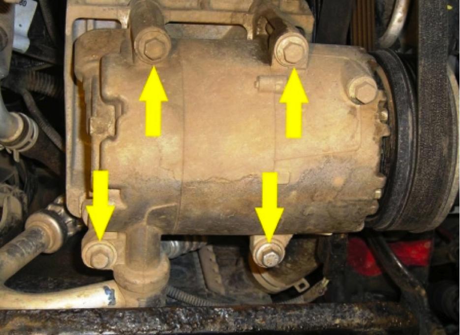 Замена ремня кондиционера на форд фокус 2 1.8 своими руками