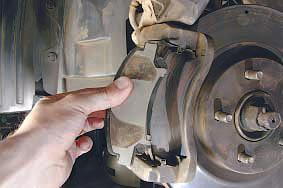 Замена передних тормозных колодок ниссан кашкай своими руками