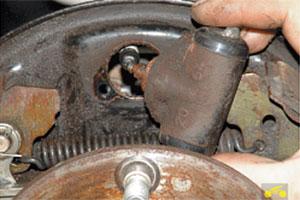 Нива замена заднего тормозного цилиндра