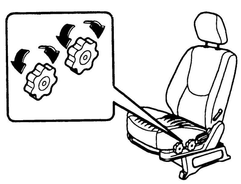 Регулировка подушки Hyundai Matrix