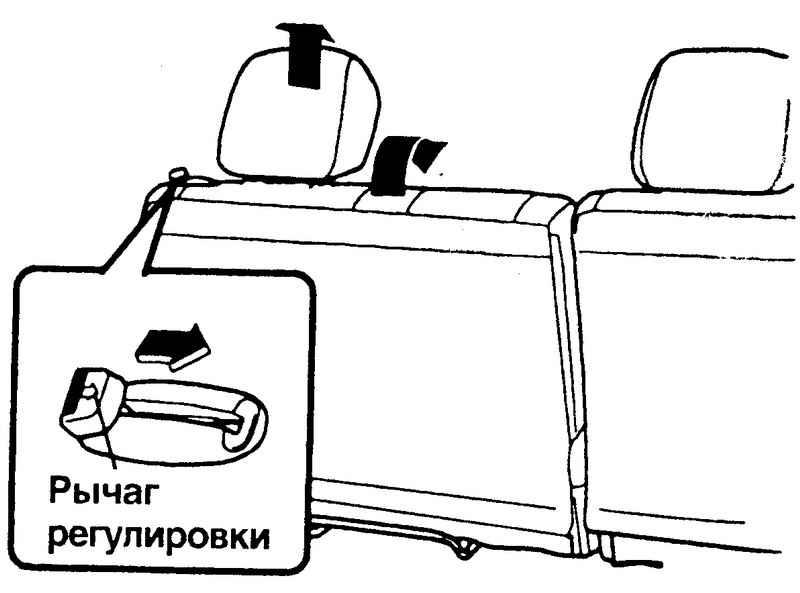 Сложение спинки Hyundai Matrix
