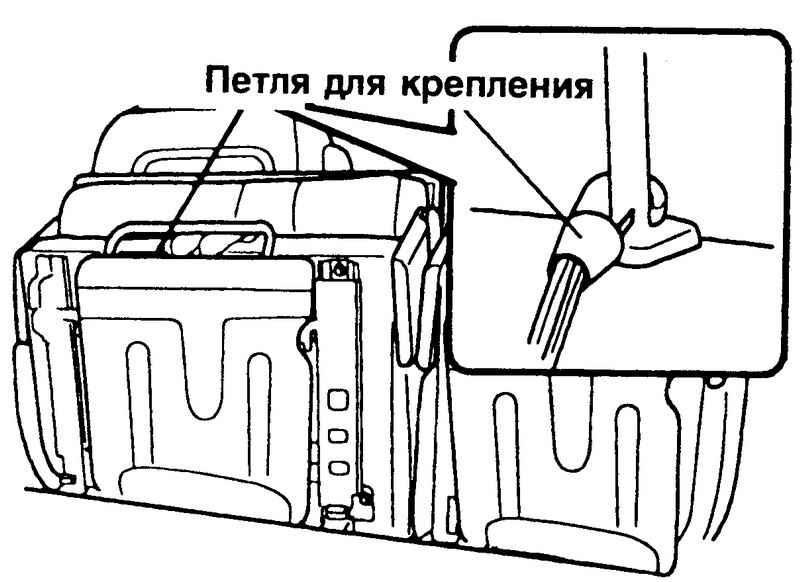 Фиксация сидения Hyundai Matrix