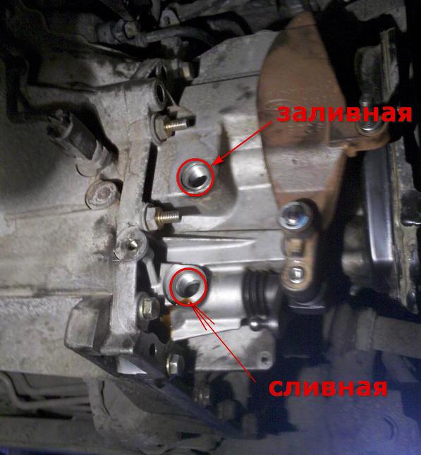 Замена масла на форд фокус 3 своими руками мкпп 16