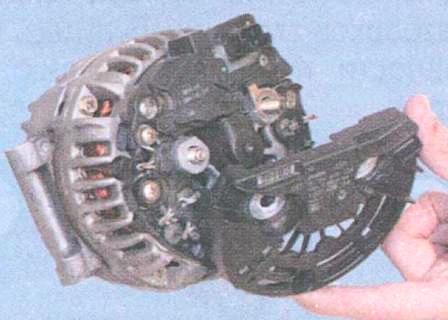 Ремонт генератора логан своими руками