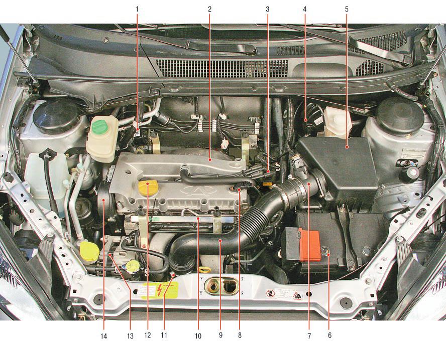 Чери амулет фото подкапотного пространства как поставить передний бампер на амулет чери видео