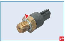 Уплотнение соединения датчика с блоком цилиндров Lada Largus