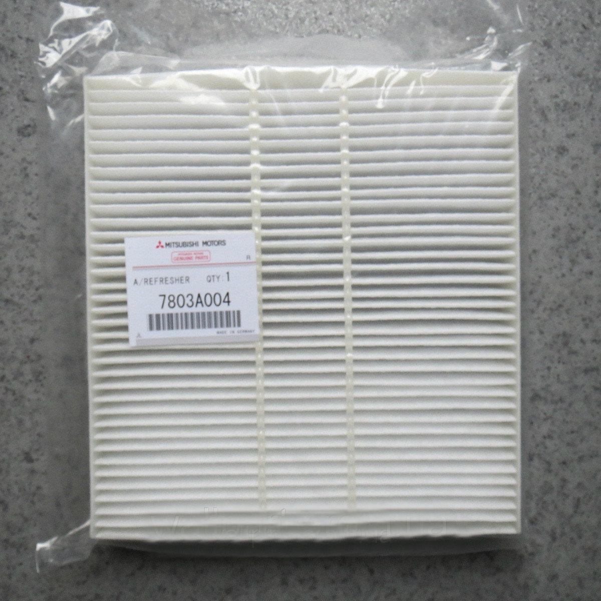 Салонный фильтр 7803A004 системы отопления, вентиляции и кондиционирования Mitsubishi Outlander XL