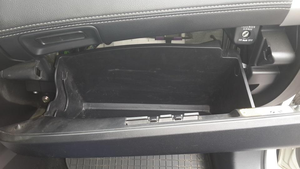 Открытый вещевой ящик Mitsubishi Outlander XL