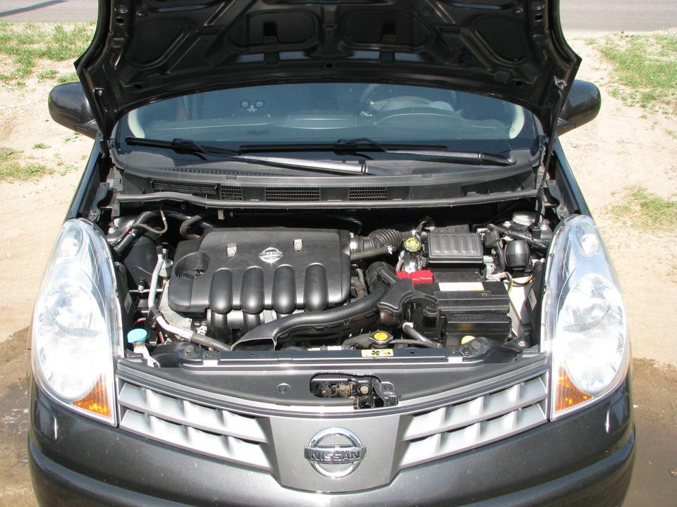 Снятие и установка аккумуляторной батареи Nissan Note 2004 - 2012