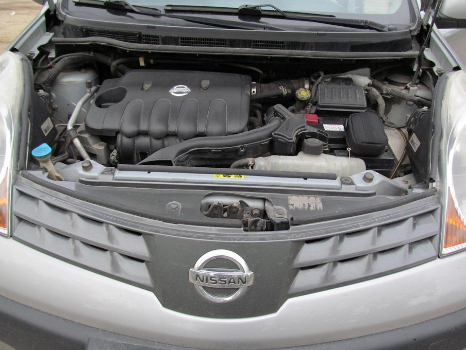 Снятие, проверка и установка клапана продувки адсорбера Nissan Note 2004 - 2012