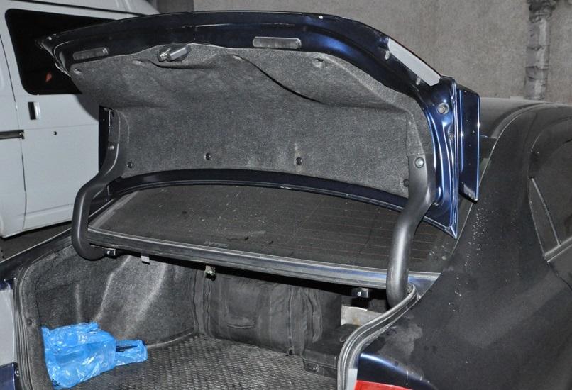 Снятие обивки крышки багажника Honda Civic 2005 - 2011