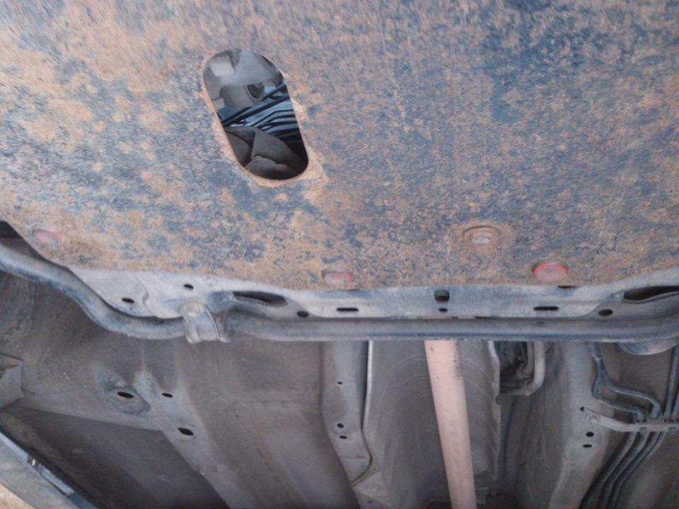 Проверка уровня и замена масла в МКПП Honda Civic 2005 - 2011