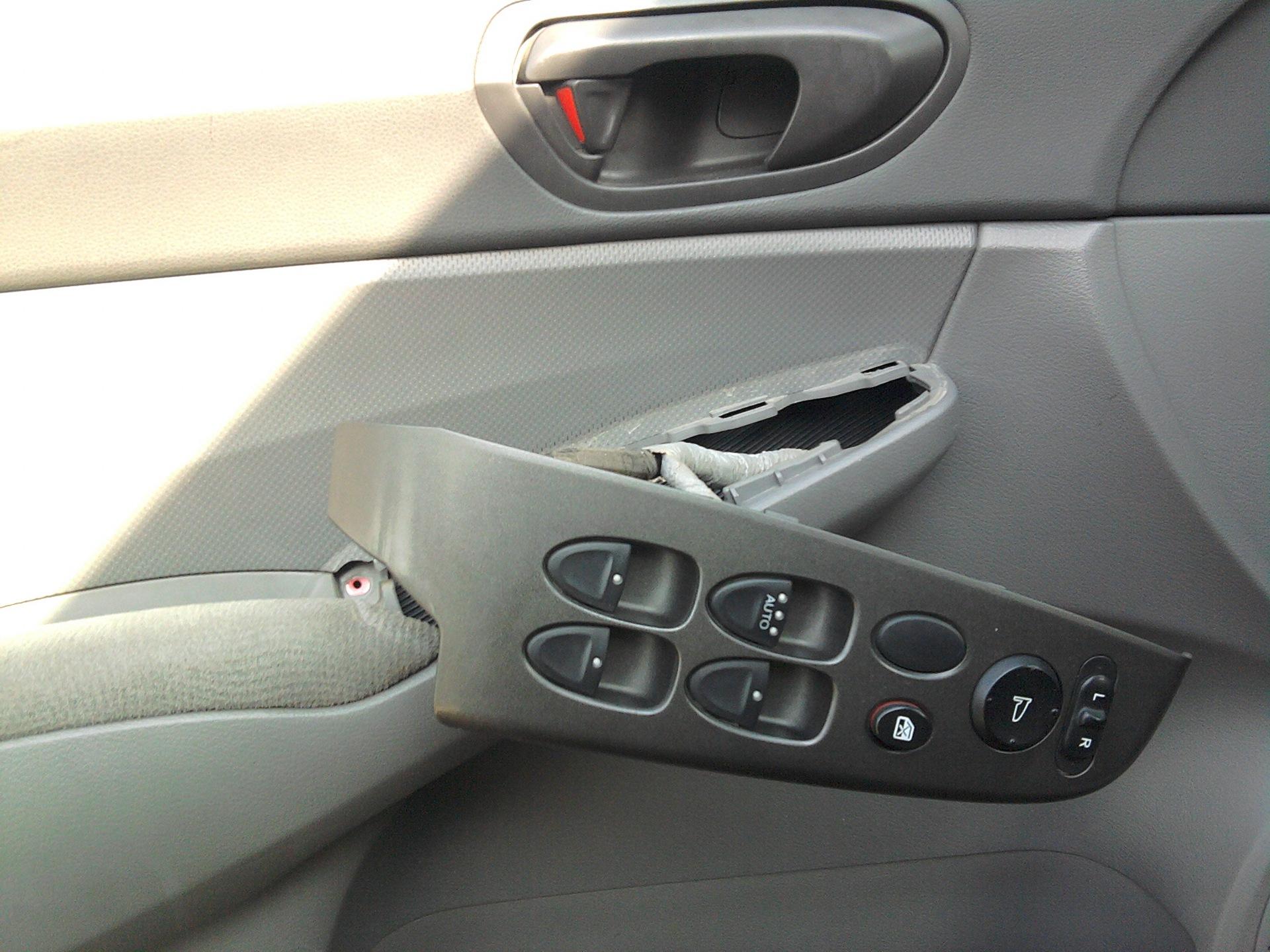 Снятие стеклоподъемника передней двери Хонда Цивик 2005 - 2011