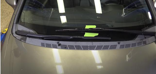 Снятие рычага стеклоочистителя ветрового окна Хонда Цивик 2005 - 2011