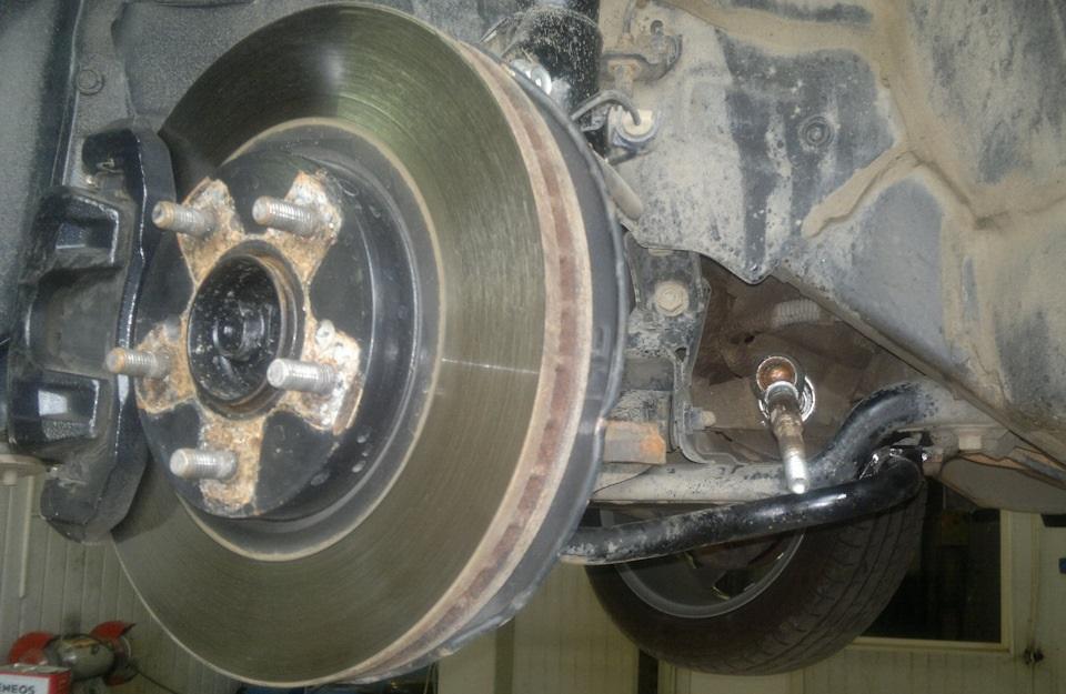 Замена пыльника рулевой тяги Хонда Цивик 2005 - 2011