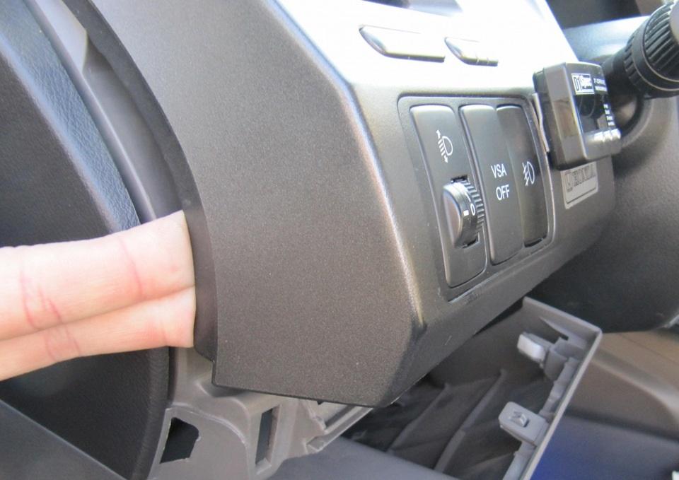 Замена панели приборов на Хонда Цивик