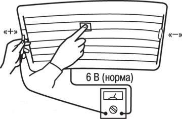 Как отремонтировать нити обогрева заднего стекла своими