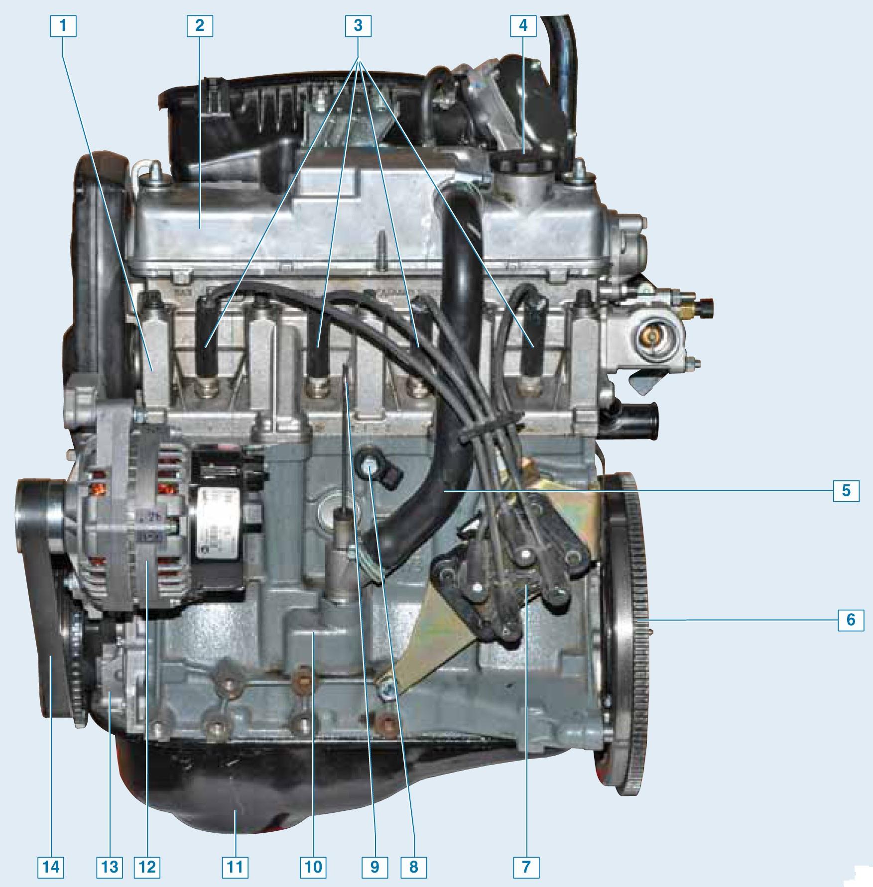 вот двигатель для калины в картинках правила