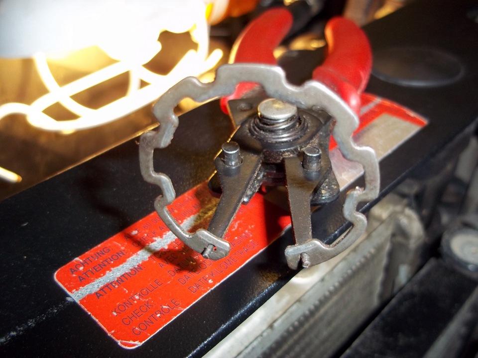 Шкив компрессора кондиционера солярис