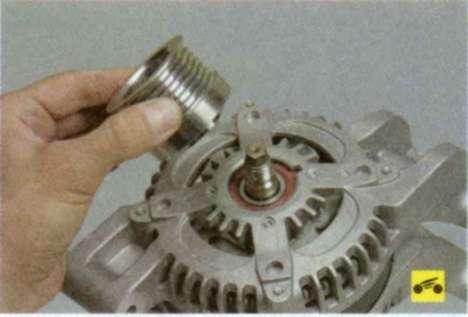 Ремонт генератора на фокус своими руками
