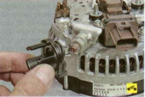 Форд фокус 1 ремонт генератора своими руками