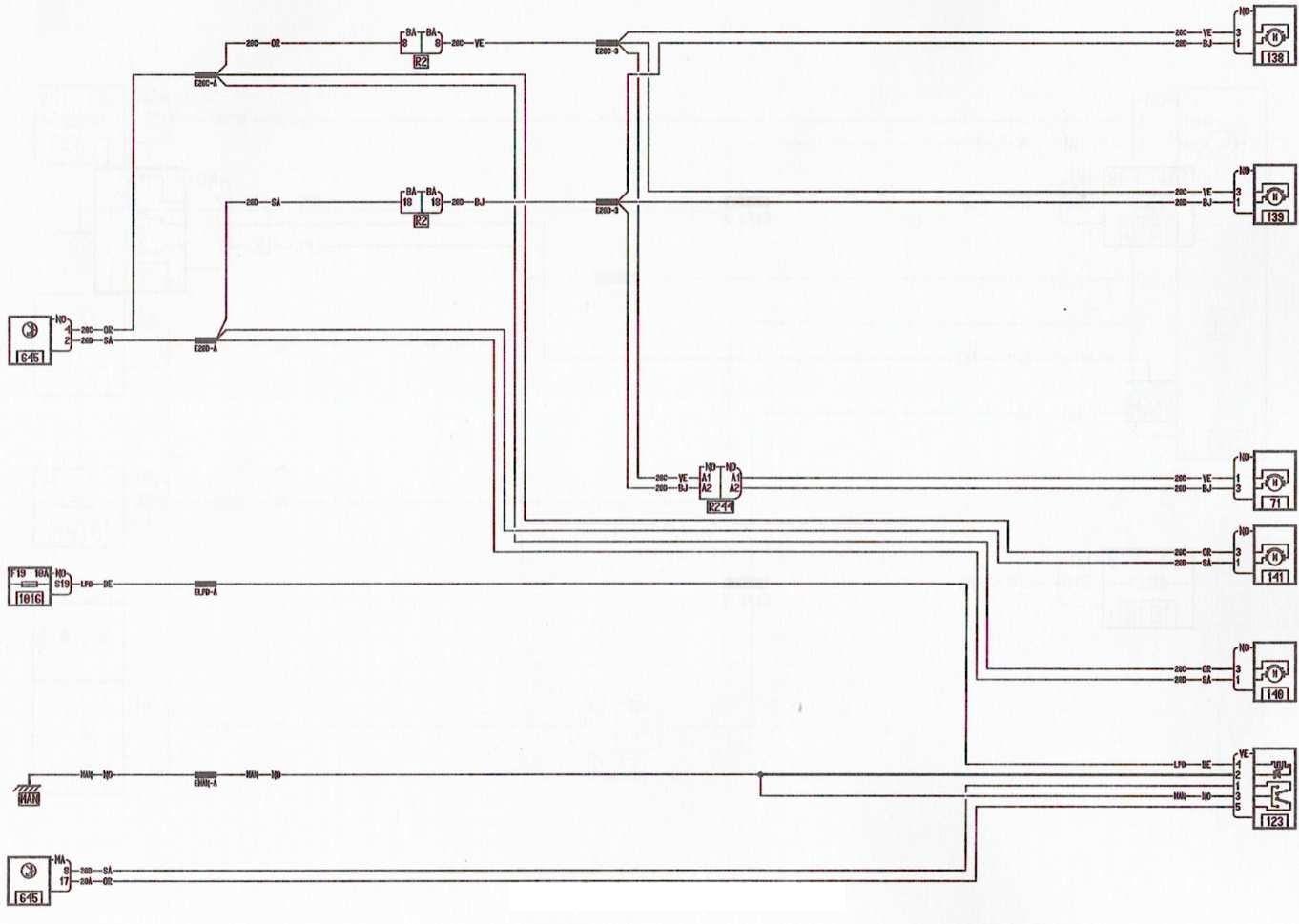 ларгус центральный замок схема